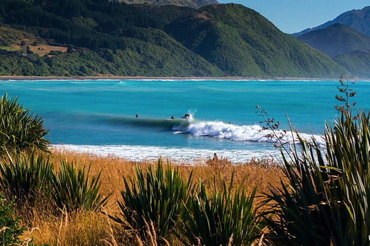 Mangamaunu surf Kaikoura, Coastal Sports.