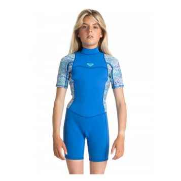 Roxy Youth 22mm Syncro Back Zip Wetsuit seablue