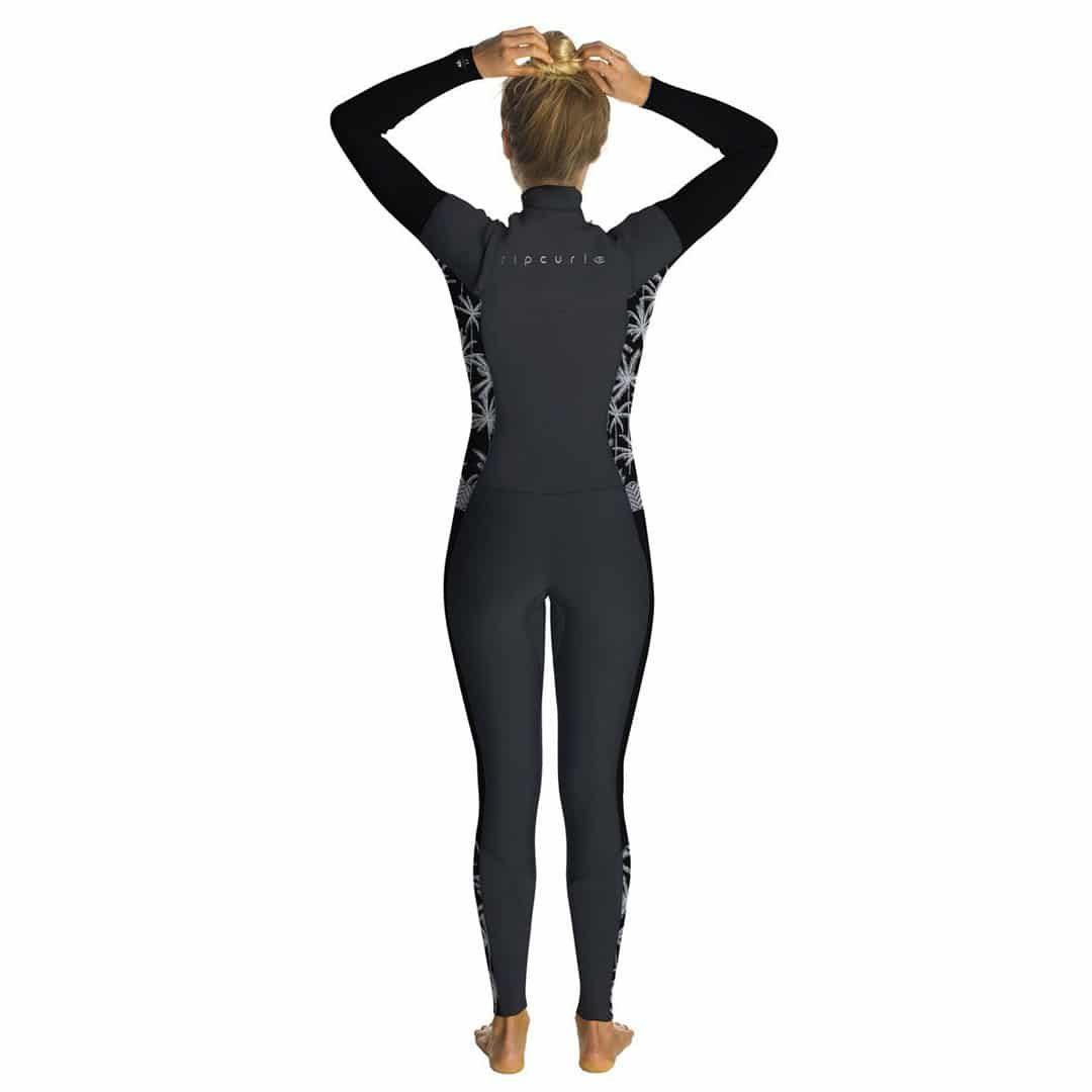 Rip Curl Womens Dawn Patrol cz wetsuit rear