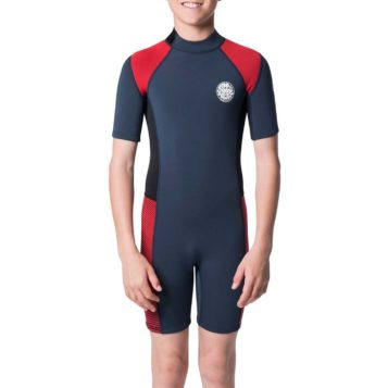 Rip Curl Youth 2mm Aggrolite SSL Wetsuit Red