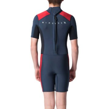 Rip Curl Youth 1.5mm Aggrolite SSL Wetsuit Rear