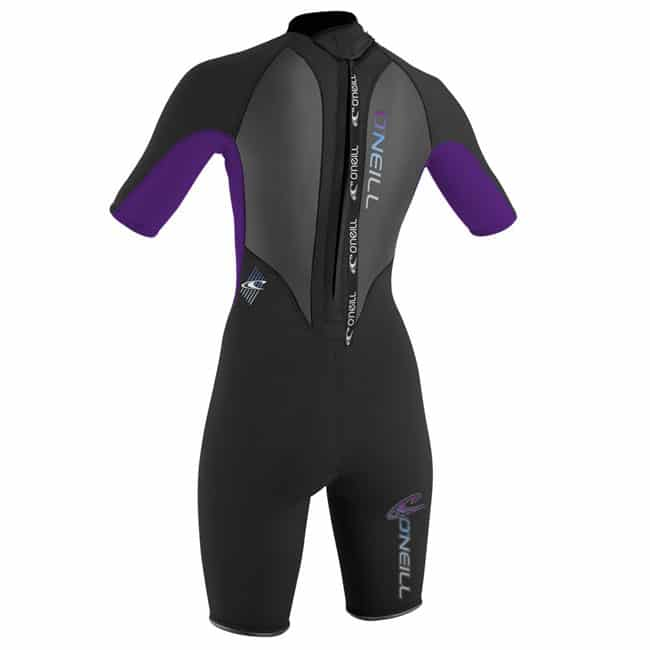 O'neill womens spring suit rear