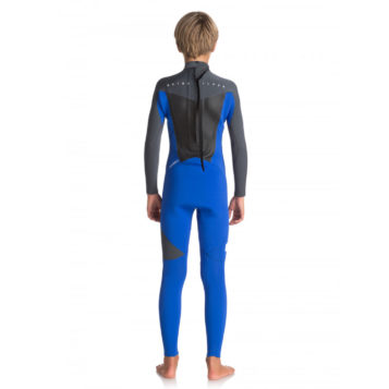 Wetsuit 32mm gbs youth Quiksilver Syncro rear
