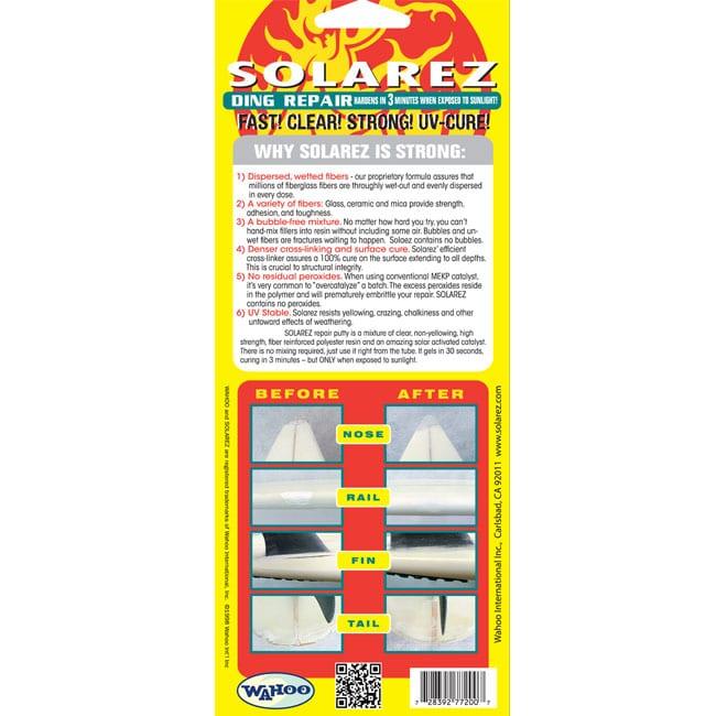 Solarez 2 Oz Tube back