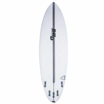 DHD Black Diamond Surfboard rear