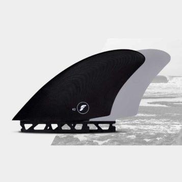 Futures K2 Keel twin fins for surfboard
