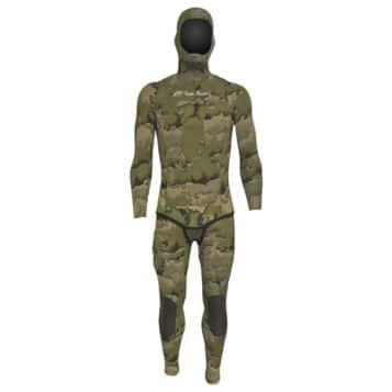 Rob Allen 5mm Green Camo Wetsuit
