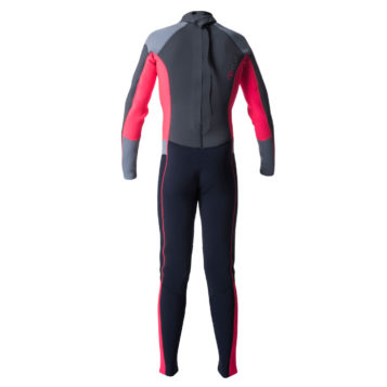Junior Girl Dawn Patrol 4/3mm Back Zip Wetsuit Steamer pink