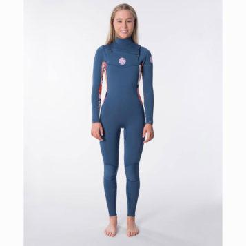 Women's Dawn Patrol 3/2 Chest Zip Wetsuit