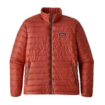Patagonia Men's Down Sweater Jacket adobe