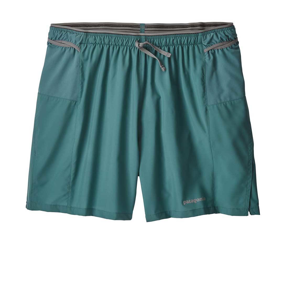 """Patagonia Men's Strider Pro Running Shorts - 5"""" teal"""