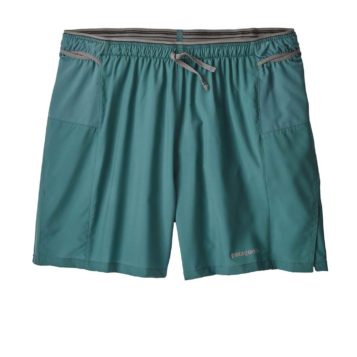 "Patagonia Men's Strider Pro Running Shorts - 5"" teal"
