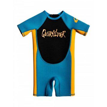 Quiksilver Toddler wetsuit blue/orange