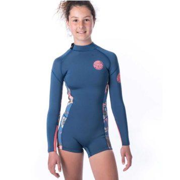 Rip Curl Junior Girl Dawn Patrol Long Sleeve Wetsuit Spring