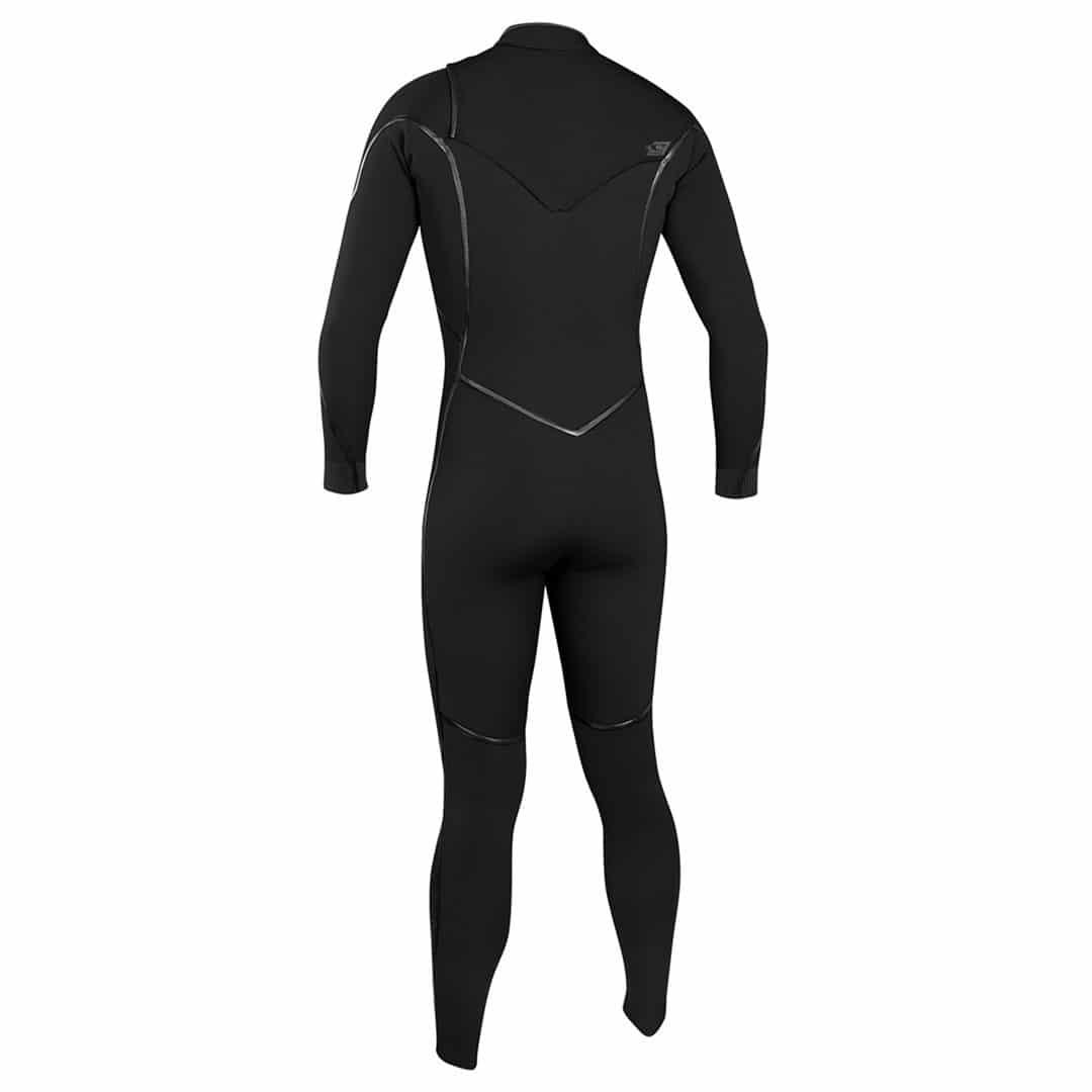 O'Neill Men's 4/3mm Psycho 1 Fuze Wetsuit Black back
