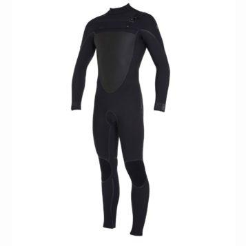 O'Neill Men's Psycho Tech Chest Zip 4/3mm Steamer Wetsuit