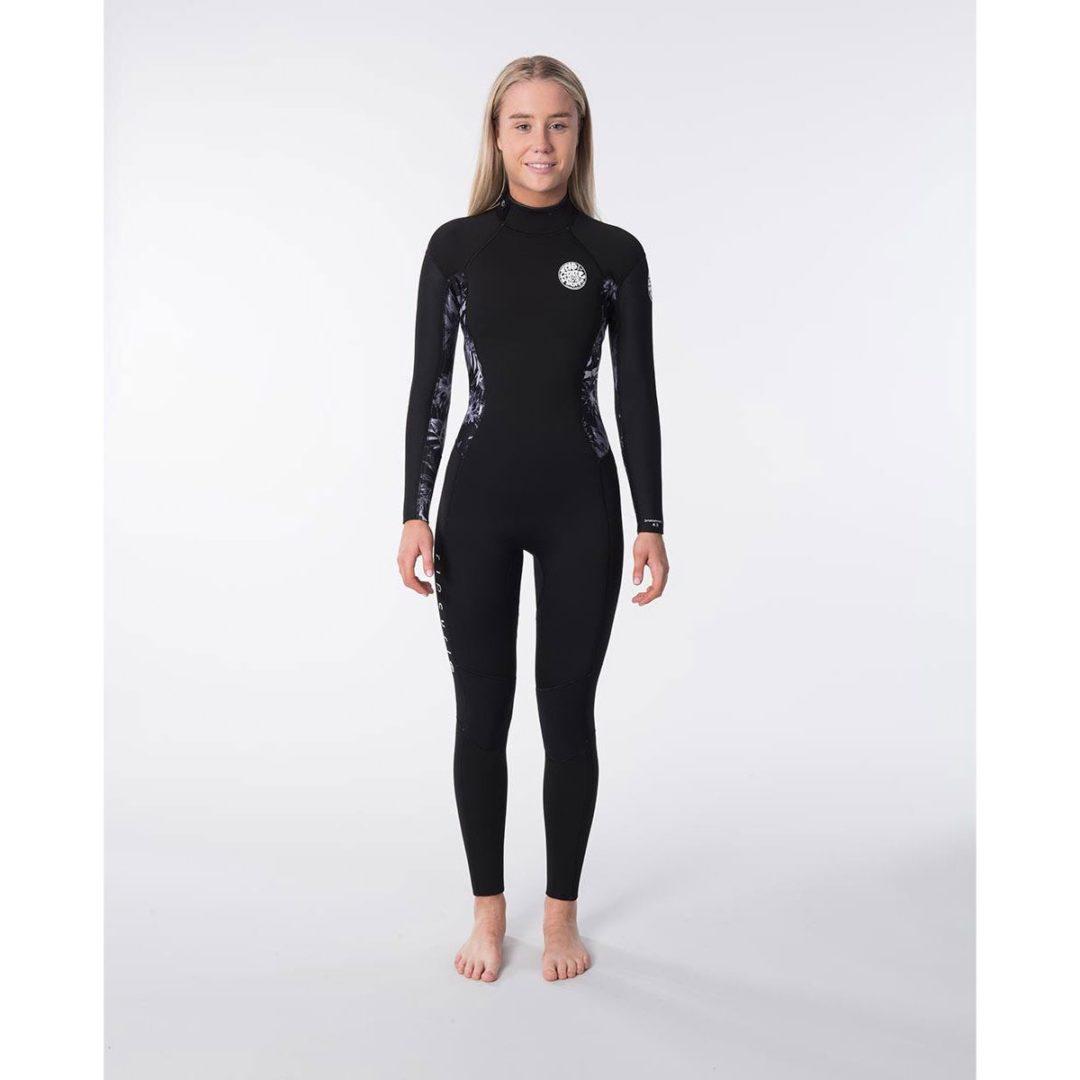 Rip Curl Women's 3/2mm Back Zip Steamer GBS Wetsuit