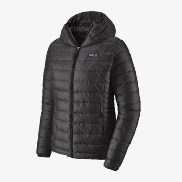 patagonia down jacket black